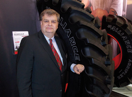 Peter Baur, Presidente ATG Tire Europe