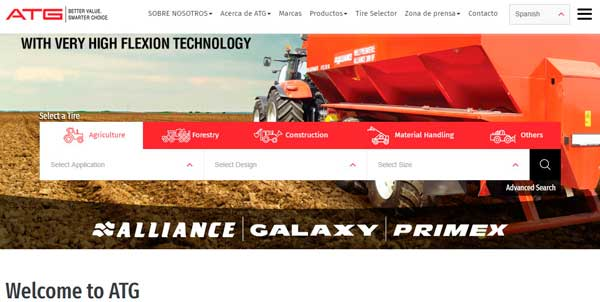 ATG (Alliance y Galaxy) renueva la página web