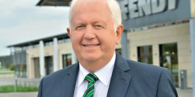 Peter-Josef Paffen, Vicepresidente y Director General de Fendt