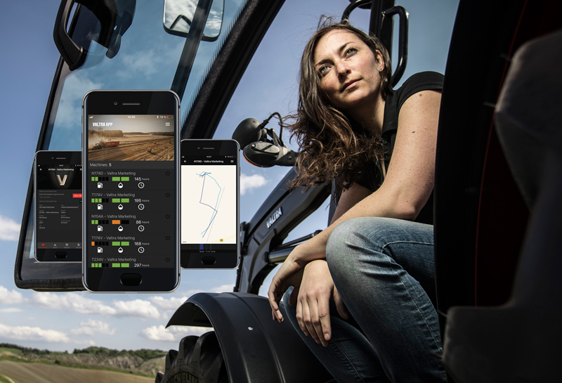 Valtra Connect interface
