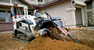 Bobcat MT55 Trencher