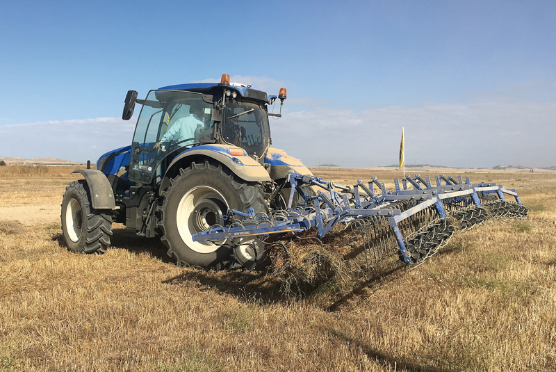 New Holland demostración