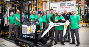 Bobcat E10e equipo de Production