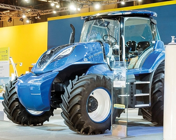 New Holland Methane Concept New Holland