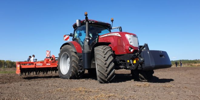 McCormick 624 VT-Drive. Finalista Open Field Tractor of The Year 2020
