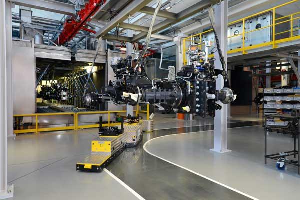Finaliza la primera fase del proceso de renovación de la fábrica de SDF en Treviglio (Italia)