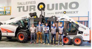 Talleres Turquino, nuevo distribuidor de Bobcat en Galicia