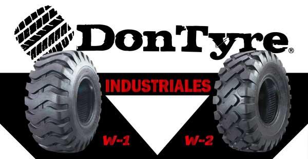 Neumáticos industriales DonTyre para trabajos con traílla