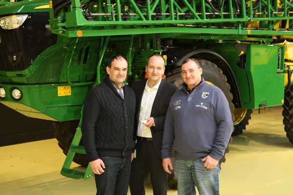 John Deere ha fabricado un millar de pulverizadores autopropulsados en nueve años en Países Bajos