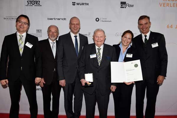 Nuevo reconocimiento para Helmut Claas por su capacidad innovadora