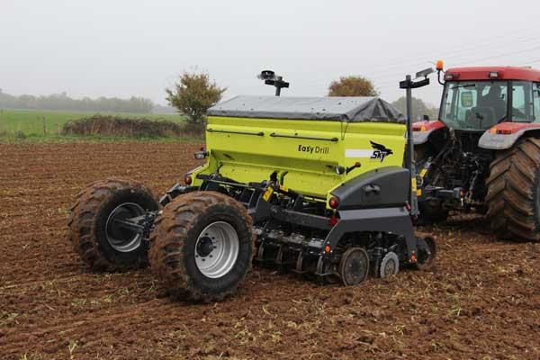 Sky Agriculture lidera el mercado francés de sembradoras
