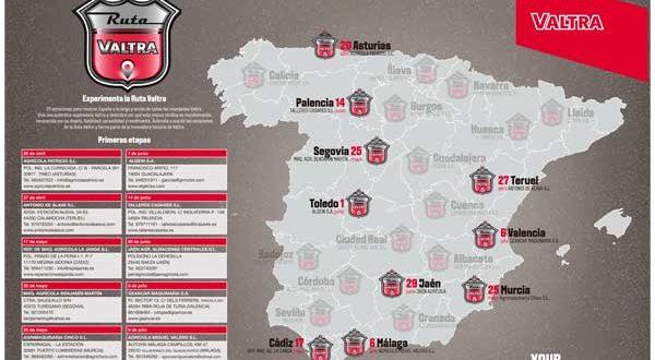 Arranca la Ruta Valtra, con 24 estaciones por toda España