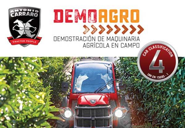 DEMOAGRO 2017: Antonio Carraro focaliza su participación en Demoviña