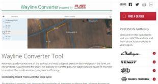 AGCO presenta una herramienta web de portabilidad de datos de guiado automático