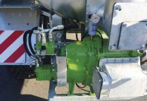 Nueva cuba con bomba con lóbulos volumétrica optimizada para el transporte