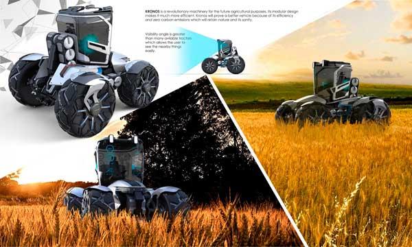 ¿Cómo serán los tractores dentro de 20 años? Kronos