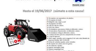 Manitou España lanza una campaña en beneficio de la Asociación Española para el Síndrome Prader Willi