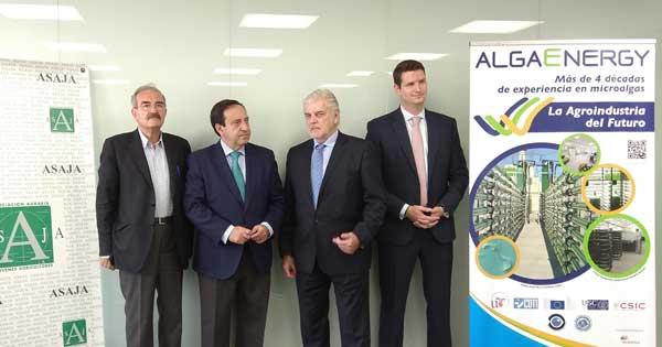 Acuerdo de Colaboración entre Asaja y Algaenergy