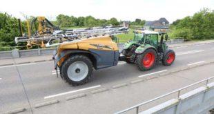Los tractores de bandas de goma y pulverizadores Challenger se comercializarán en Europa con marca Fendt