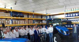 Pedro Azpeitia, concesionario de New Holland en toda La Rioja, inaugura instalaciones en Logroño