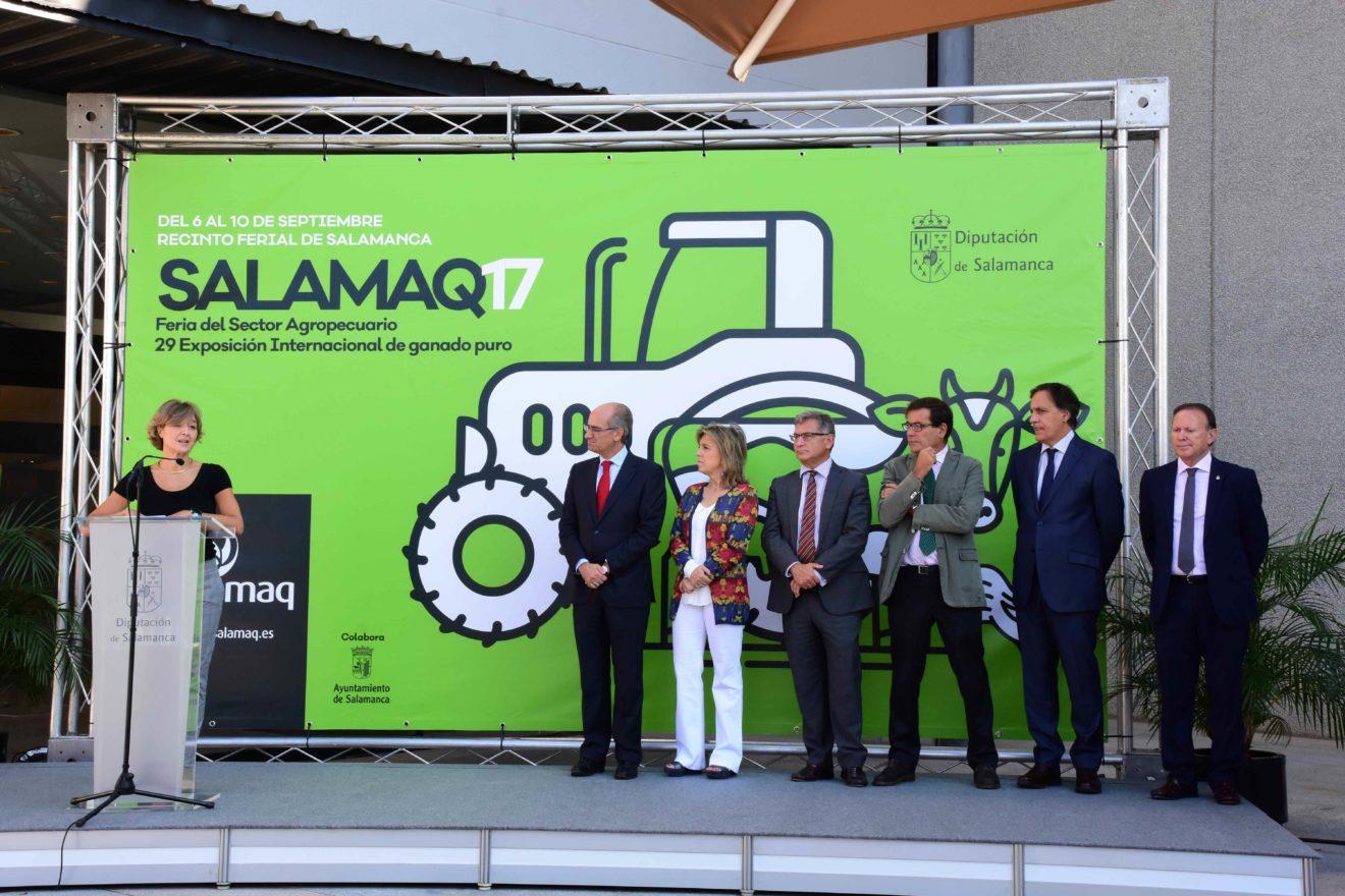 Isabel García Tejerina, Ministra de Agricultura en Salamaq 17