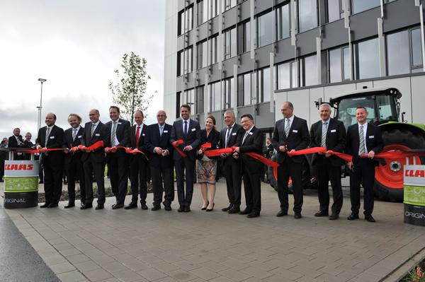 Claas Inauguración Centro de Desarrollo Electrónico