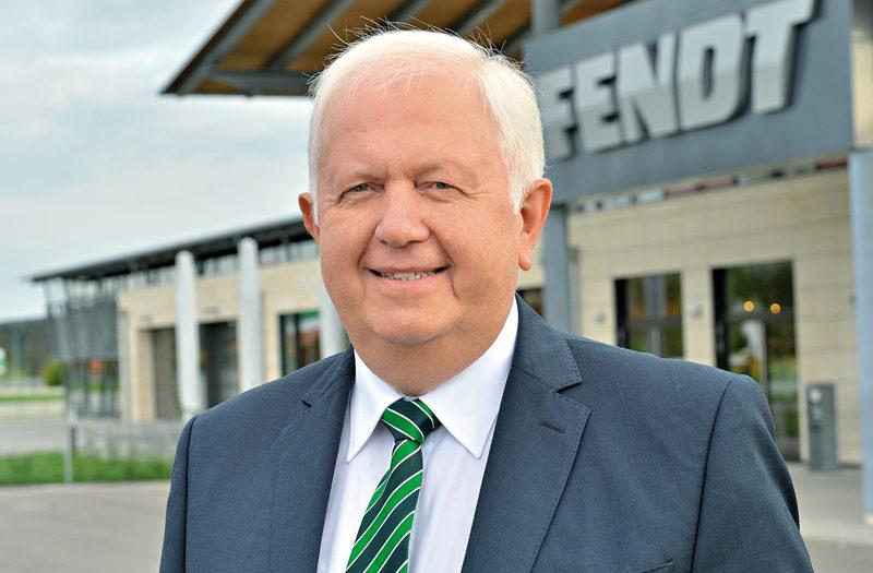 Peter-Josef Paffen Vicepresidente y Director General de Fendt