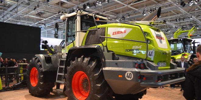 Claas presenta Turion, la primera cargadora dedicada al uso agrícola