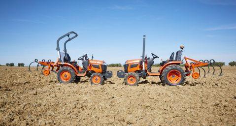 La gama renovada de tractores compactos Kubota llegará a principios de 2018