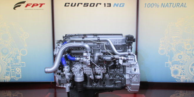FPT Industrial presenta el propulsor Cursor 13 de gas natural para maquinaria agrícola