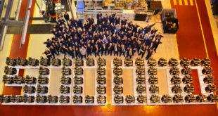 JCB 500.000 unidades de motores