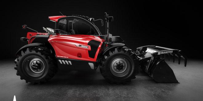 Manitou obtiene el 'Étoile du Design Made in France' por su gama de cargadores telescópicos agrícolas MLT NewAG