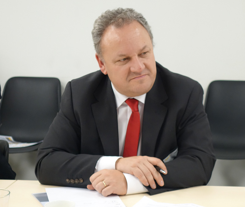 Thierry Panadero, vicepresidente de Case IH para la región EMEA