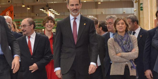 Su Majestad el Rey Felipe VI inaugura la 40 Edicion de FIMA 2018