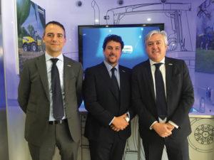 Riccardo Angelini, Alessandro Maritano y Carlo Lambro