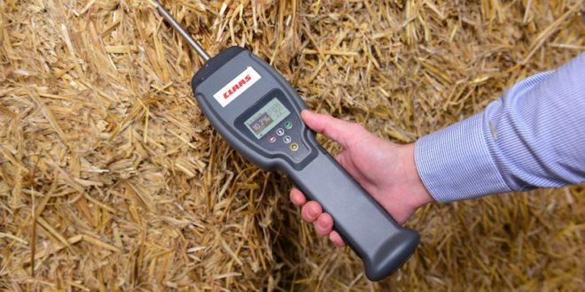 Nuevos dispositivos Claas de medición de forraje y grano