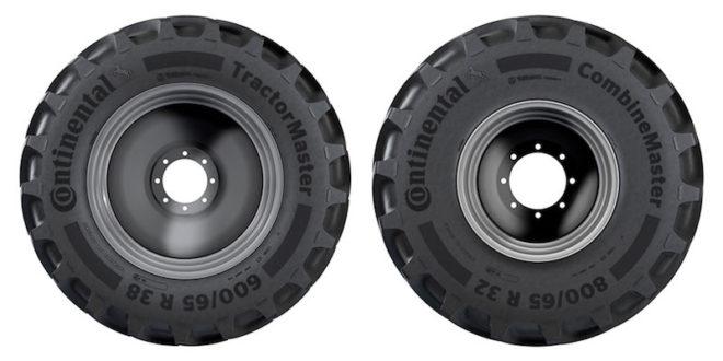 Continental lanzará en verano los nuevos neumáticos agrícolas TractorMaster y CombineMaster