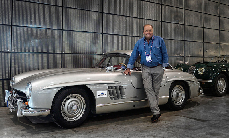 F1 legend Jochen Mass and Vredestein team up at Mille Miglia