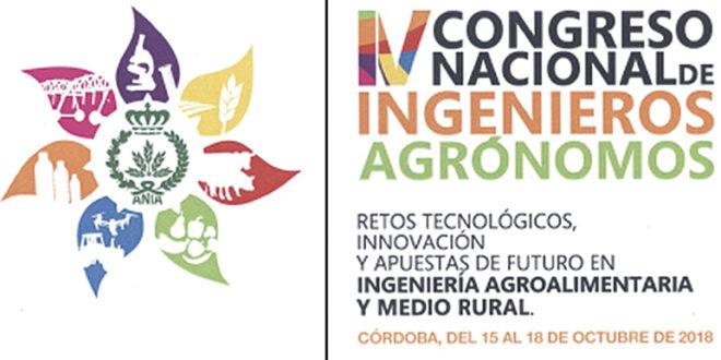 Córdoba acogerá en octubre el IV Congreso Nacional de Ingenieros Agrónomos