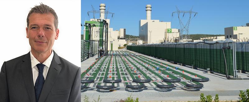 Planta de AlgaEnergy en Arcos de la Frontera con Giuseppe
