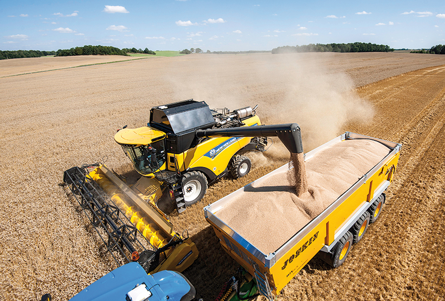 New Holland cx7 and cx8 tier 4b