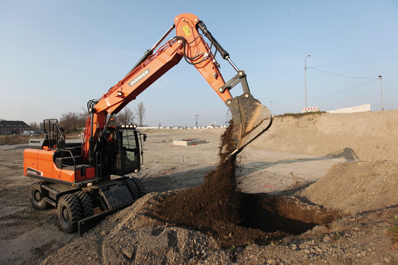 Doosan DX170W 5 Construction