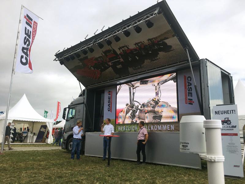 Case IH, socio tecnológico en PotatoEurope 2018