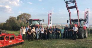 Presentan en Viena los modelos candidatos al TOTY de Case iH y Steyr