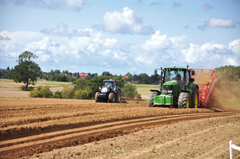 Matriculaciones tractores agrícolas agosto