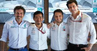 Petronas: Guiseppe D'Arrigo, Ahmad-Nasri, Salvatore Schembri, Toto-Wolff