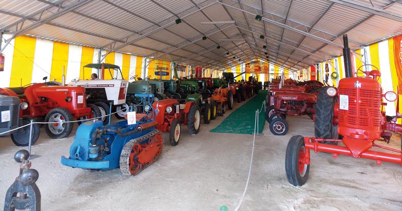 Museo de tractores Horcajo