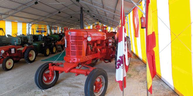 La maquinaria agrícola clásica tiene su nuevo espacio en Segovia
