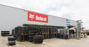 Bobcat, centro de distribución de repuestos para la región EMEA