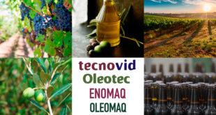 Tecnovid, Oleotec, Enomaq, Oleomaq y E-Beer